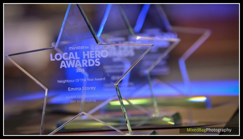 Minster FM Local Hero Awards - event photography