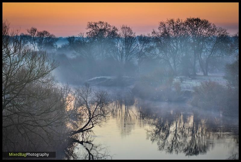Winter mist on the River Ouse
