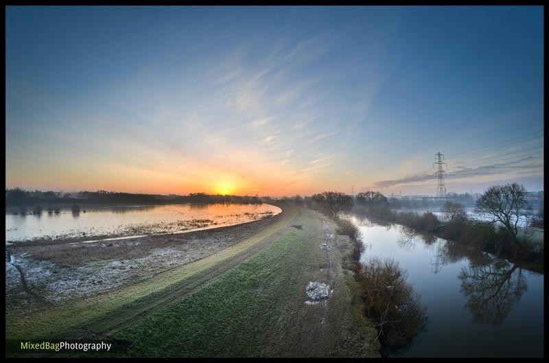 Sunrise over the River Ouse